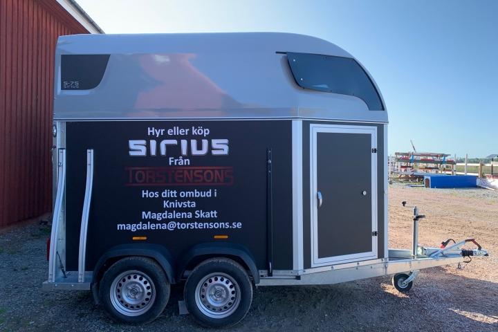Sirius S75, UJX 40A, 1400kg